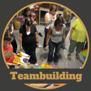 Teambuilding puzzel schilderij